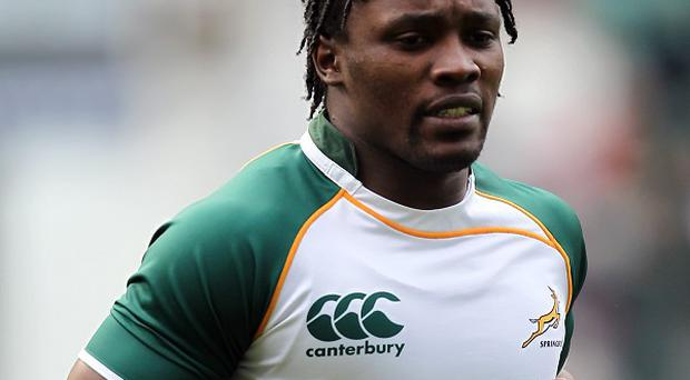 Lwazi Mvovo scored the only try of the contest in Johannesburg
