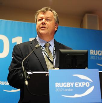 RFU chief executive Ian Ritchie stresses the impact of a home World Cup will be felt by the Aviva Premiership clubs