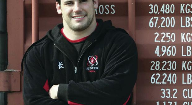 Future plans: Ricky Lutton can sparkle for Ulster