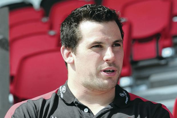 Ricky Lutton has just signed a two-year contract with Ulster Rugby