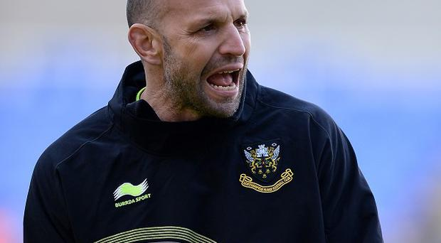 Northampton director of rugby Jim Mallinder, pictured, wants more from his side