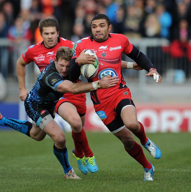 Toulon's Bryan Habana, pictured with the ball, admits CJ Stander decision to chase residency in Ireland is a loss to South Africa