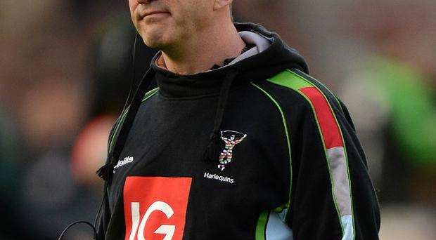 Harlequins boss Conor O'Shea felt Northampton got a lucky try