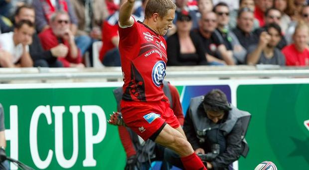 Toulon's fly half Jonny Wilkinson was in fine kicking form. (AP)