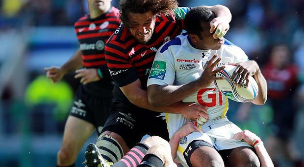 Saracens flanker Jacques Burger admits his daily routine icing his damaged knee is