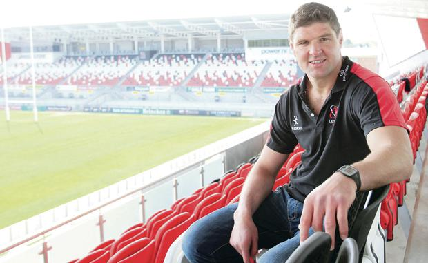 Johann Muller will play his final game at Ravenhill tonight after deciding to retire at the end of the season