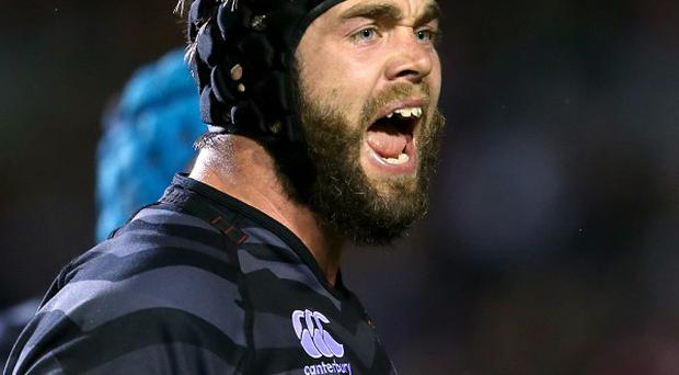 Geoff Parling, pictured, returns for Leicester's Aviva Premiership match at Sale on Saturday