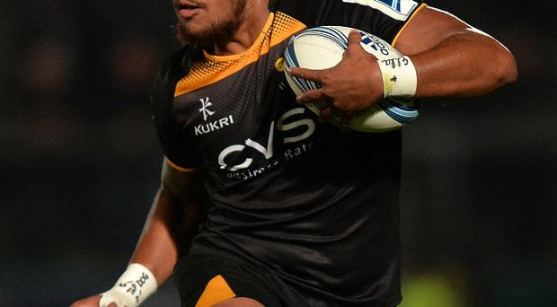 Nathan Hughes scored two tries before going off injured