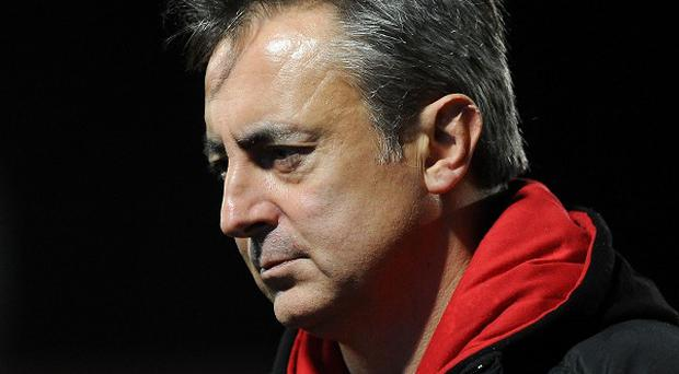 Nigel Davies was frustrated by a disappointing end to a poor season