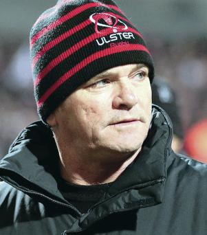 Painful: Saturday's defeat has left Mark Anscombe frustrated