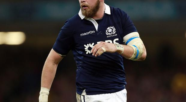 Ryan Wilson, pictured here playing for Scotland, has undergone shoulder surgery