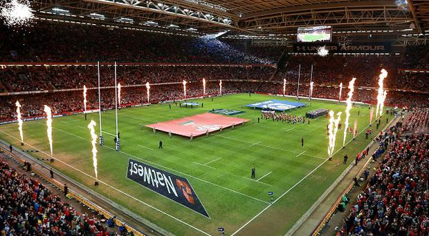 The Millennium Stadium - home of Welsh rugby