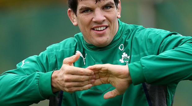 Donncha O'Callaghan will follow in his brother's footsteps when he plays for the Barbarians on Sunday