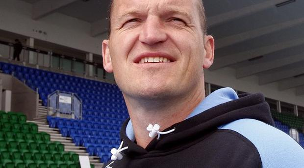 Glasgow Warriors head coach Gregor Townsend, pictured, is looking forward to the club's first ever RaboDirect PRO12 final on Saturday