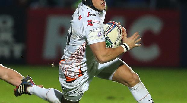 Full-back Matthew Morgan, pictured right, has been included in the Wales squad that will tour South Africa