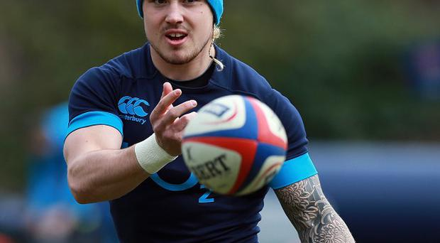 Exeter and England wing Jack Nowell