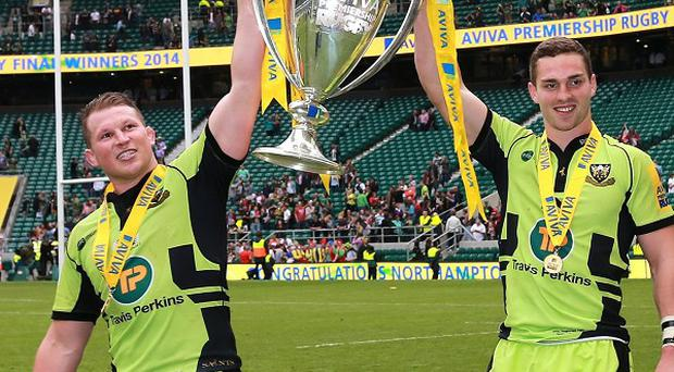 Dylan Hartley, left, revealed winning the Aviva Premiership title had become a personal obsession