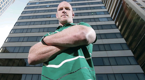 Standing strong: Paul O'Connell is still a key man for Ireland 11 years after making his mark on a tour to Tonga and Samoa