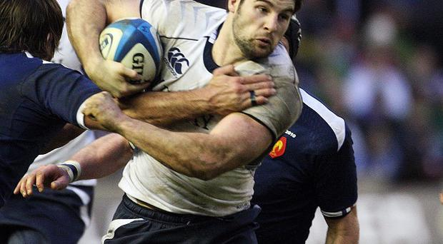 Scotland 's Johnnie Beattie is looking forward to getting back into action.