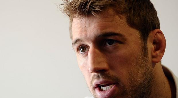Chris Robshaw is eyeing a stunning England win