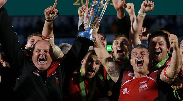 London Welsh will add to their playing staff next week after sealing promotion