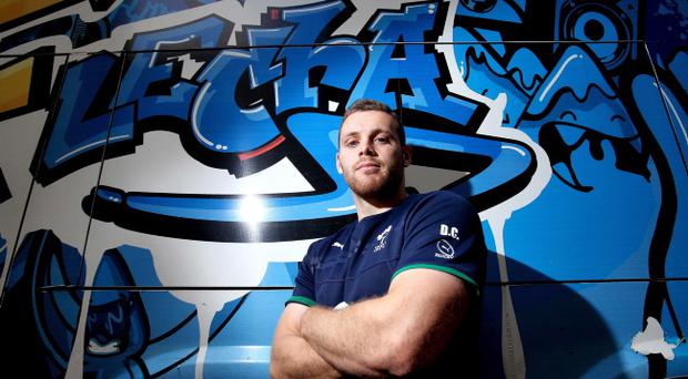 Opportunity knocks: Darren Cave will get the first shot at taking over from Ireland hero Brian O'Driscoll