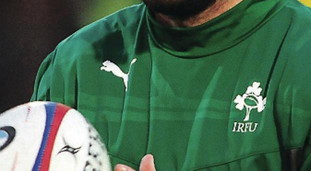 Success: Ulster's Frankie Taggart helped Ireland to victory