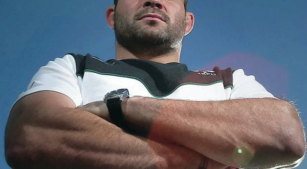 Shocked and concerned: Rory Best, pictured on Ireland tour duty in Argentina, is the first Ulster player to react publicly to David Humphreys' departure