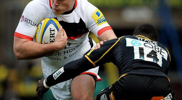 Newcastle prop Grant Shiells (left) has joined Bath.