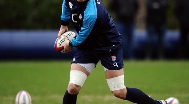 Joe Launchbury, pictured, will take Geoff Parling's place in England's starting XV against New Zealand on Saturday