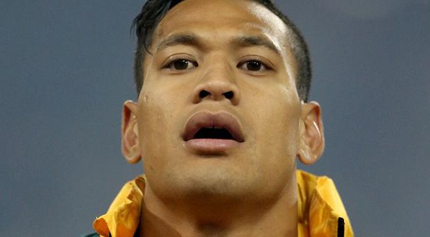 Israel Folau notched a brace of tries as Australia swept aside France in the third and final Test