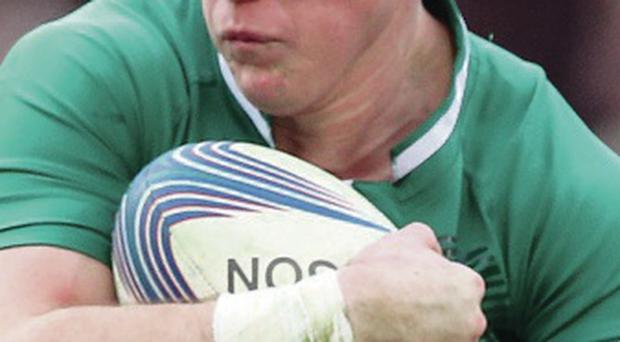 On form: Craig Gilroy bagged Emerging Ireland's second try