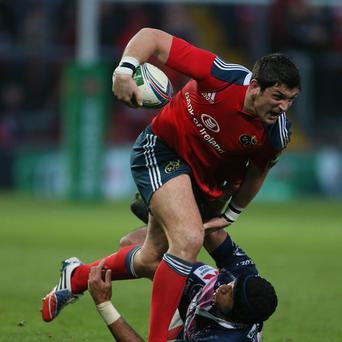 James Downey has spent the past two seasons with Munster