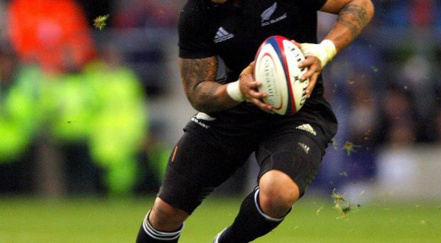 Ma'a Nonu, pictured, was among the tryscorers as the Blues brushed aside the Force