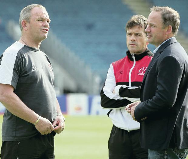 End of the road: Mark Anscombe's departure appears to have been sped-up following David Humphrey's switch to Gloucester