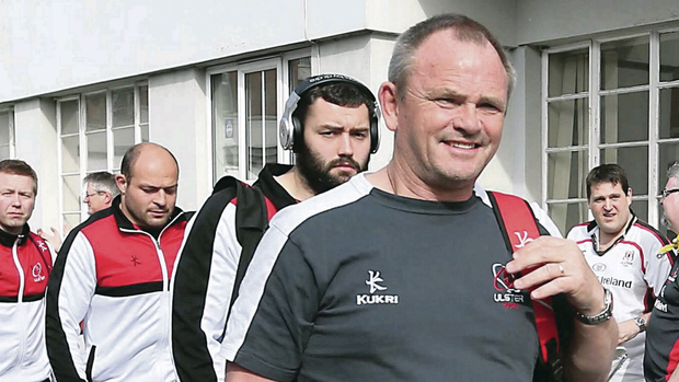 Pack your bags: the now ex-Ulster coach Mark Anscombe