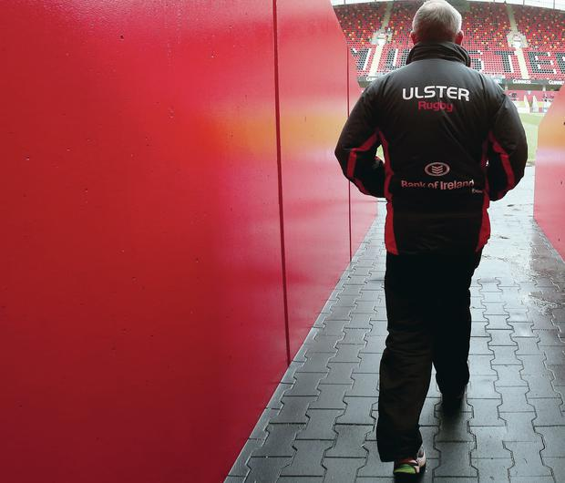 Walking the plank: Mark Anscombe lasted two years as Ulster boss