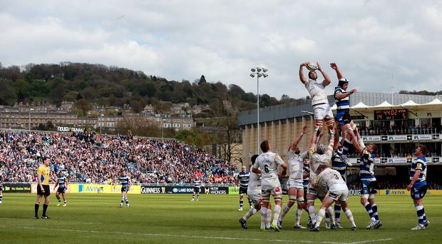 Bath are planning to increase the capacity at the Recreation Ground