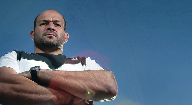 Leading by example: Rory Best has taken over the Ulster captaincy under new boss Les Kiss