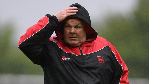 London Welsh head coach Justin Burnell, pictured, has added Ben Cooper to his ranks