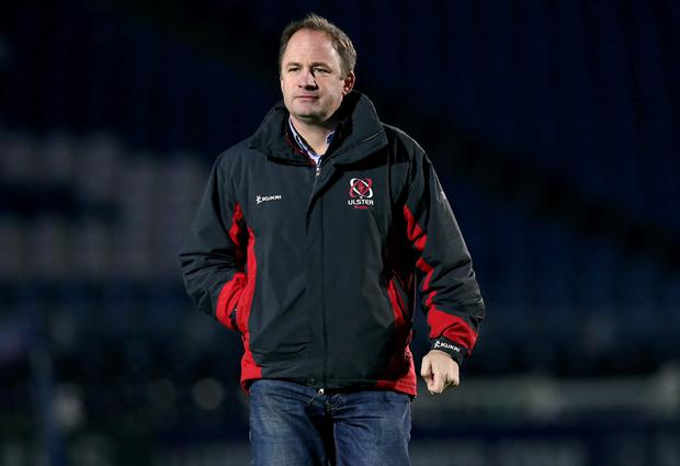 Time up: David Humphreys knew there was always going to be a day he would leave Ulster