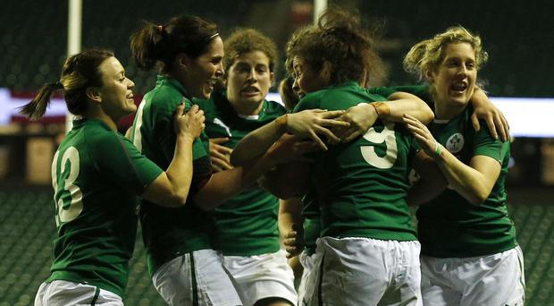 Ireland are through to the semi-finals of the Women's Rugby World Cup