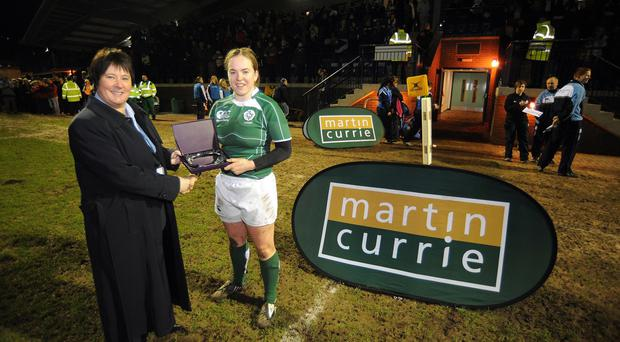 Niamh Briggs, right, is back for Ireland