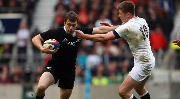 Ben Smith, left, starts at full-back for New Zealand on Saturday