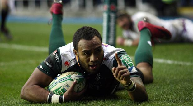 Sailosi Tagicakibau, pictured, has joined Wasps after nine years with London Irish