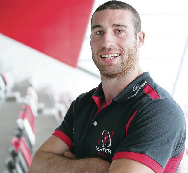 Defining year: Ricky Andrew wants to make an impression over the upcoming season to earn a new contract with Ulster