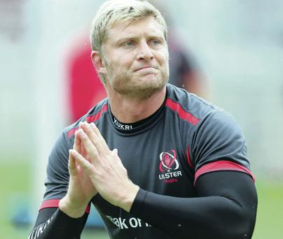 New surroundings: Franco van der Merwe adapting to the Ulster weather and getting used to the accent