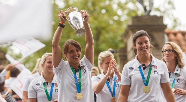 England's captain Katy Mclean will go full-time along with her team-mates