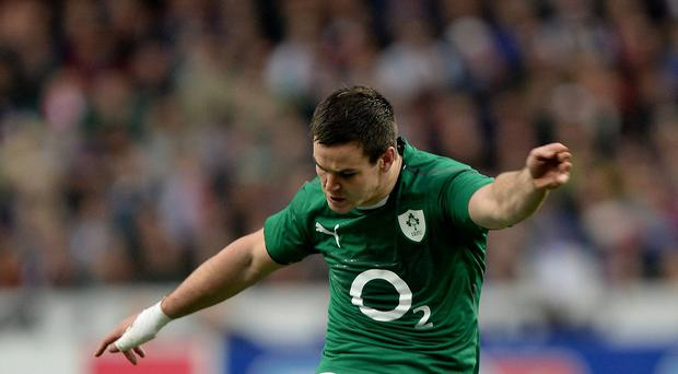 Johnny Sexton, pictured, is expected to return to Leinster from Racing Metro next summer