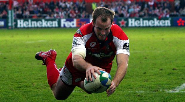 Former England and Gloucester winger James Simpson-Daniel has retired through injury